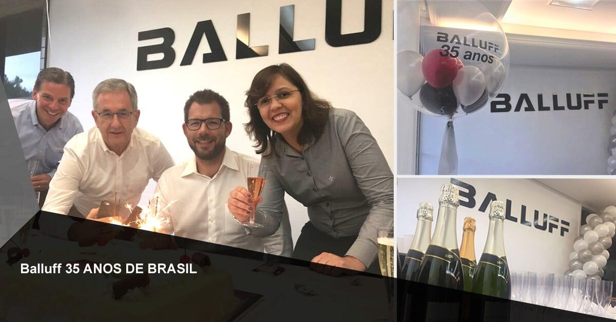 Balluff Brasil completa 35 anos