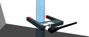 Detecção de líquido com sensor de forquilha: faça água e outros líquidos transparentes serem visíveis ao sensor