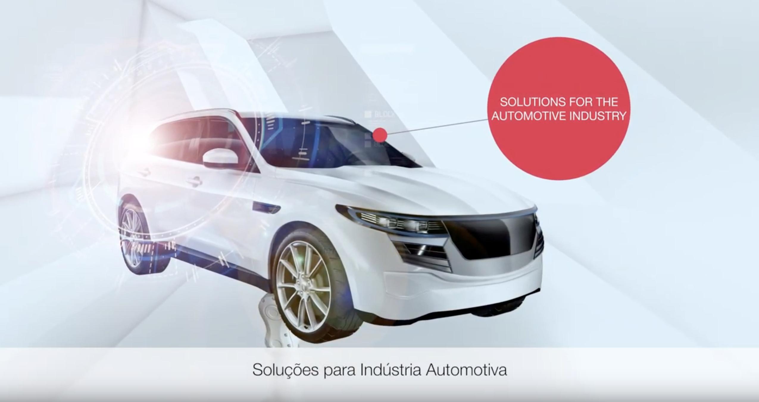 Soluções para a Indústria Automotiva // Fabricação de baterias